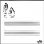 Malvorlagen Basteln - Briefpapier High School Musical
