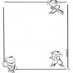 Malvorlagen Basteln - Briefpapier Kinder