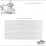 Malvorlagen Basteln - Briefpapier Winx