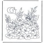 Allerhand Ausmalbilder - Buchstabe G