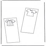 Malvorlagen Basteln - Buchzeichen 3