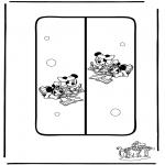 Malvorlagen Basteln - Buchzeichen 6