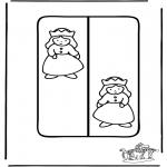 Malvorlagen Basteln - Buchzeichen Prinzessin