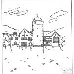 Allerhand Ausmalbilder - Burg 5