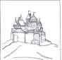 Burg von  Disney