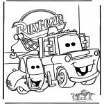 Ausmalbilder Comicfigure - Cars 1