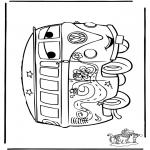 Ausmalbilder Comicfigure - Cars 3