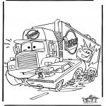 Ausmalbilder Comicfigure - Cars 6