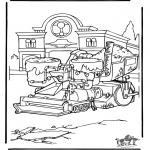 Ausmalbilder Comicfigure - Cars 7