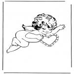 Ausmalbilder Themen - Cupido 3
