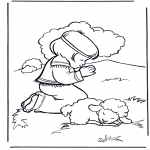Bibel Ausmalbilder - David 2