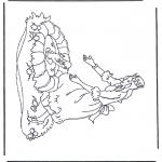 Malvorlagen Basteln - Der Froschprinz