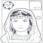 Bibel Ausmalbilder - Der verlorene Groschen