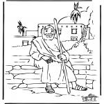 Bibel Ausmalbilder - Derr verlorene Sohn 5