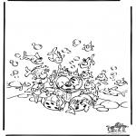 Ausmalbilder Comicfigure - Diddl 49