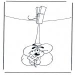 Ausmalbilder Comicfigure - Diddle 27