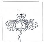 Ausmalbilder Comicfigure - Diddle 6