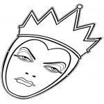 Malvorlagen Basteln - Die böse Königin