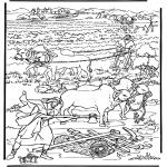 Bibel Ausmalbilder - Die neue Welt 2