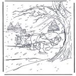 Ausmalbilder Comicfigure - Die Schöne 2