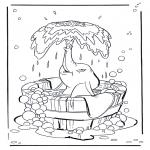 Ausmalbilder Comicfigure - Dumbo 1