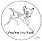 Einladung  Bambi