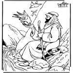 Bibel Ausmalbilder - Elia 1