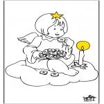 Allerhand Ausmalbilder - Engel 2