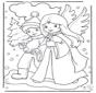 Engel und Junge