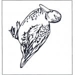 Ausmalbilder Tiere - Ente 4