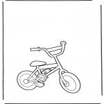 Allerhand Ausmalbilder - Fahrrad 2