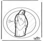 Fensterhänger Jesus
