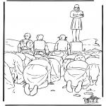 Bibel Ausmalbilder - Freunde von Daniel