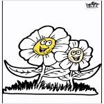 Allerhand Ausmalbilder - Frühlingsblumen 3