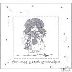 Ausmalbilder Themen - Für lieben Opa