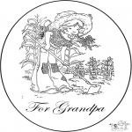Ausmalbilder Themen - Für Opa