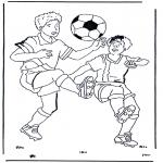 Allerhand Ausmalbilder - Fussball 1