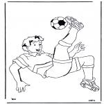 Allerhand Ausmalbilder - Fussball 2
