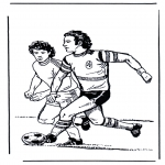 Allerhand Ausmalbilder - Fussball 4