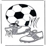 Allerhand Ausmalbilder - Fussball 5