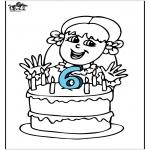 Ausmalbilder Themen - Geburtstag 4