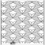 Allerhand Ausmalbilder - Geometrische Formen 11