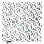 Allerhand Ausmalbilder - Geometrische Formen 12