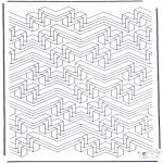 Allerhand Ausmalbilder - Geometrische Formen 6