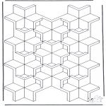 Allerhand Ausmalbilder - Geometrische Formen 7
