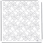 Allerhand Ausmalbilder - Geometrische Formen 8