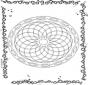 Geometrische Mandala 1