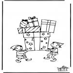Ausmalbilder Themen - Geschenk