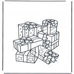 Ausmalbilder Themen - Geschenke