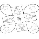 Malvorlagen Basteln - Geschenkschächtelchen Aschenputtel